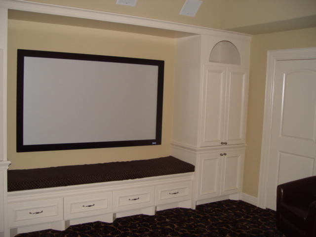 Media Room Built Ins