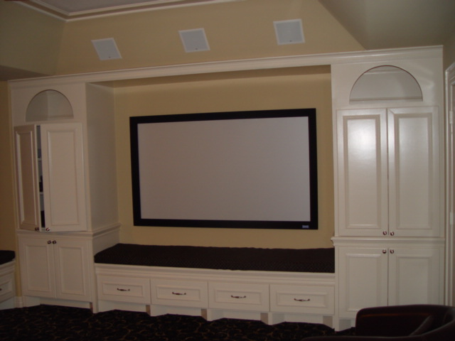 Exceptionnel Media Room Built Ins