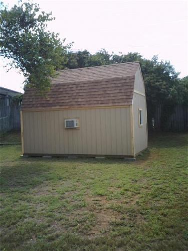 Barn Style Storage Shed
