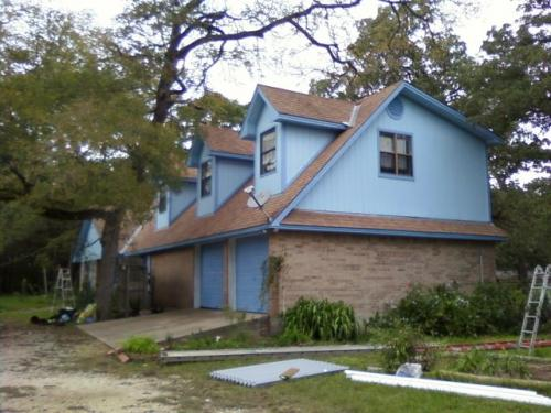 Exterior Carpentry & Repaint