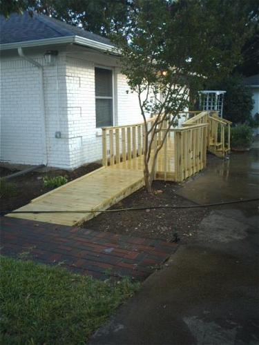 Handicapped Conversion After
