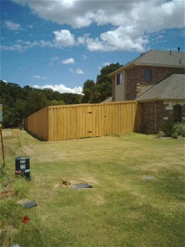Privacy Fence After